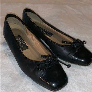 VTG Stuart Weitzman black ballet flat 5 1/2
